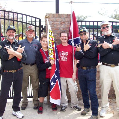 Heritage Flag rally in Tampa, Florida