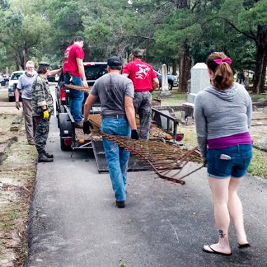 November Cemetery Clean-Up